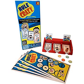 Rule Crazy by PF Shaggy, Starter Ed., Educational Games for Children & Reading Games for Kids Series