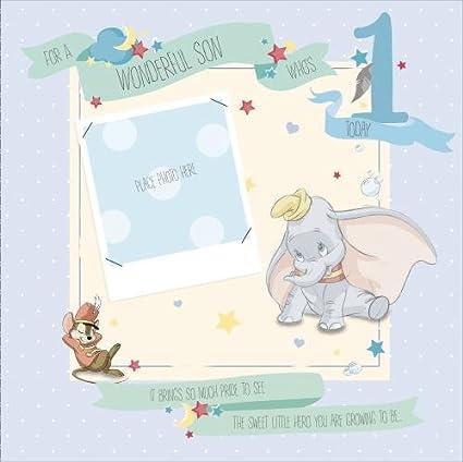Disney Dumbo 1st Birthday Card