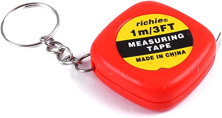 "NEW 39/"" Mini Keychain Plastic House Tape Measure"