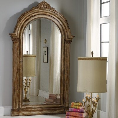 Hooker Bathroom Furniture (Hooker Furniture Melange Vera Floor Mirror with Jewelry Storage Finish)