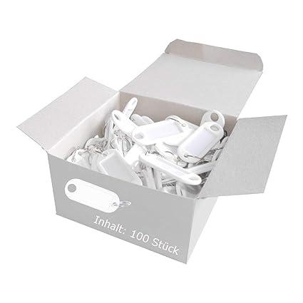 Wedo 262801800 Llavero con anillo de plástico, etiquetas ...