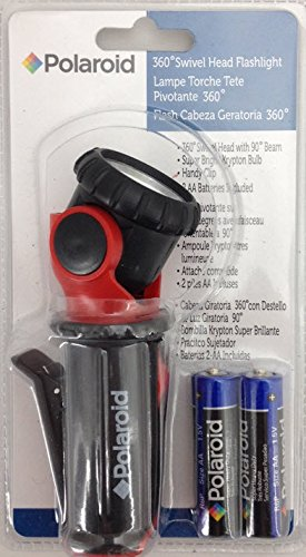 Polaroid 360 Swivel Head Flashlight - Basic Handheld Flashlights - Amazon.com