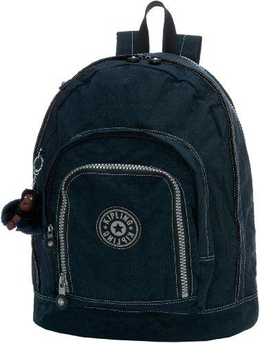 Kipling Hiker Expandable Backpack, True Blue, One Size, Outdoor Stuffs