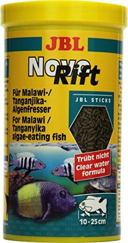 JBL Alleinfutter für aufwuchsfressende Buntbarsche, Sticks 1 l, NovoRift 30295