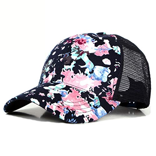 A Aire Flores de de Impresa Libre Sombreros para Sombrero Gorra C hat GLLH Mujer Sol Sombrero qin béisbol Gorra Hombre al Casual de AwIqFRC