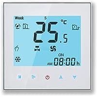Arxus WiFi Programable Smart Termostato Pantalla LCD Controlador de Temperatura para Calderas de Calefacción/Aire…