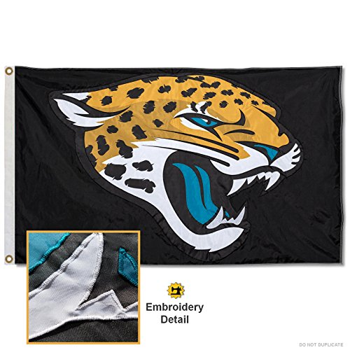 Wincraft Jacksonville Jaguars Embroidered Nylon Flag
