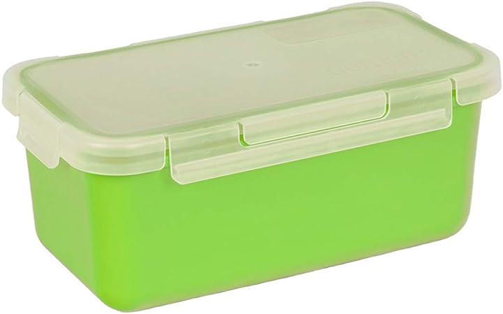 Valira Porta alimentos - Contenedor hermético de 1 L hecho en España, color verde: Amazon.es: Hogar