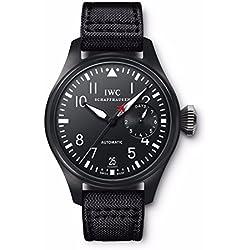 IWC Big Pilot Top Gun Black Dial Automatic Power Reserve Mens Watch IW501901
