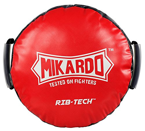 Mikardo non rip RIB-TECH Round Boxing Muay Thai MMA Kickboxing Punch Striking Pad Shield by Mikardo