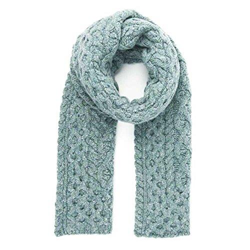 Mist Wool Scarf - Ladies Wool Scarf - Ocean Mist
