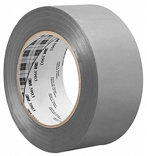 3m Light-Duty Duct Tape, 1'' X 50 yd, 6.30 mil Thick, Gray Vinyl, 1 EA 1-50-3903-GREY - 1 Each