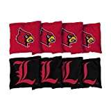 8 Louisville Cardinals Regulation Corn Filled