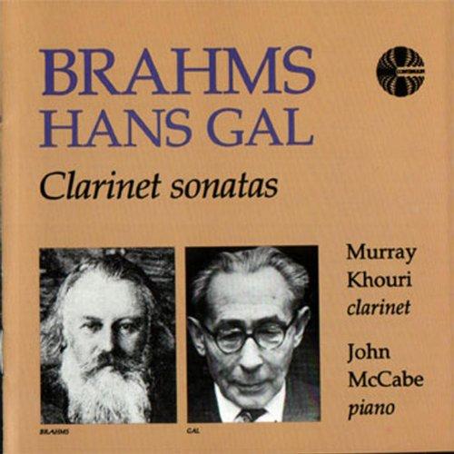 Brahms / Hans Gal: Clarinet Sonatas