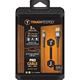 ToughTested 8' PRO Armor Weave Cable w/Slim