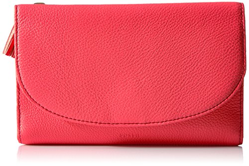 Fossil Sophia Wallet on a String Bag, Neon Coral by Fossil