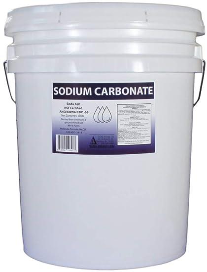 Amazon.com: Carbonato de sodio puro. Ceniza de sodio densa ...