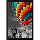 Golden State Art, 12x18 Inch Poster Frame - Black - Landscape/Portrait - Swivel Tabs - Simple and Stylish