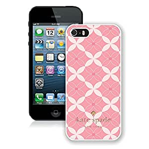 Recommend Custom Design iPhone 5S Case Kate Spade New York Personalized Customized Phone Case For iPhone 5S Case 178 White