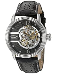 Stuhrling Original Men's 308A.33151 Legacy Analog Display Automatic Self Wind Black Watch