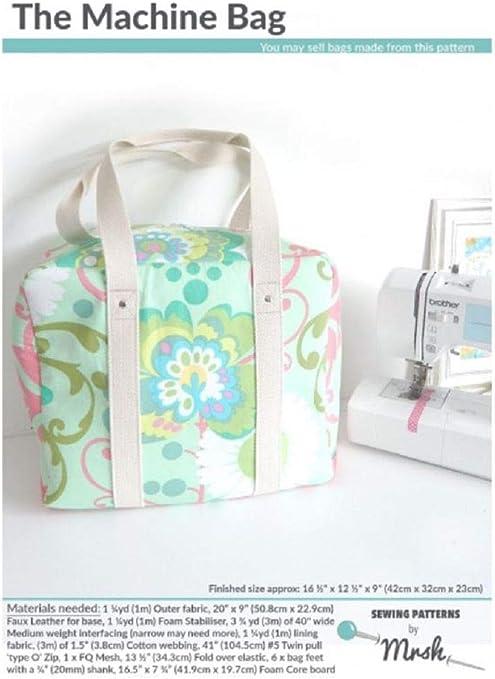 Mrs H MH-Machine - Patrones de costura para bolsas de máquina ...