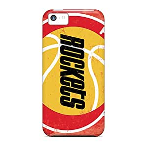 New Premium LittleBox Houston Rockets Skin Case Cover Excellent Fitted For Iphone 5c