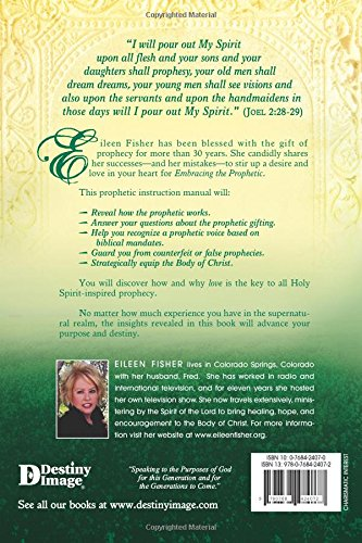 embracing the prophetic fisher eileen