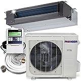 Pioner Ceiling Concealed Recessed Split Ducted Inverter+ Heat Pump System Set, 36000 BTU