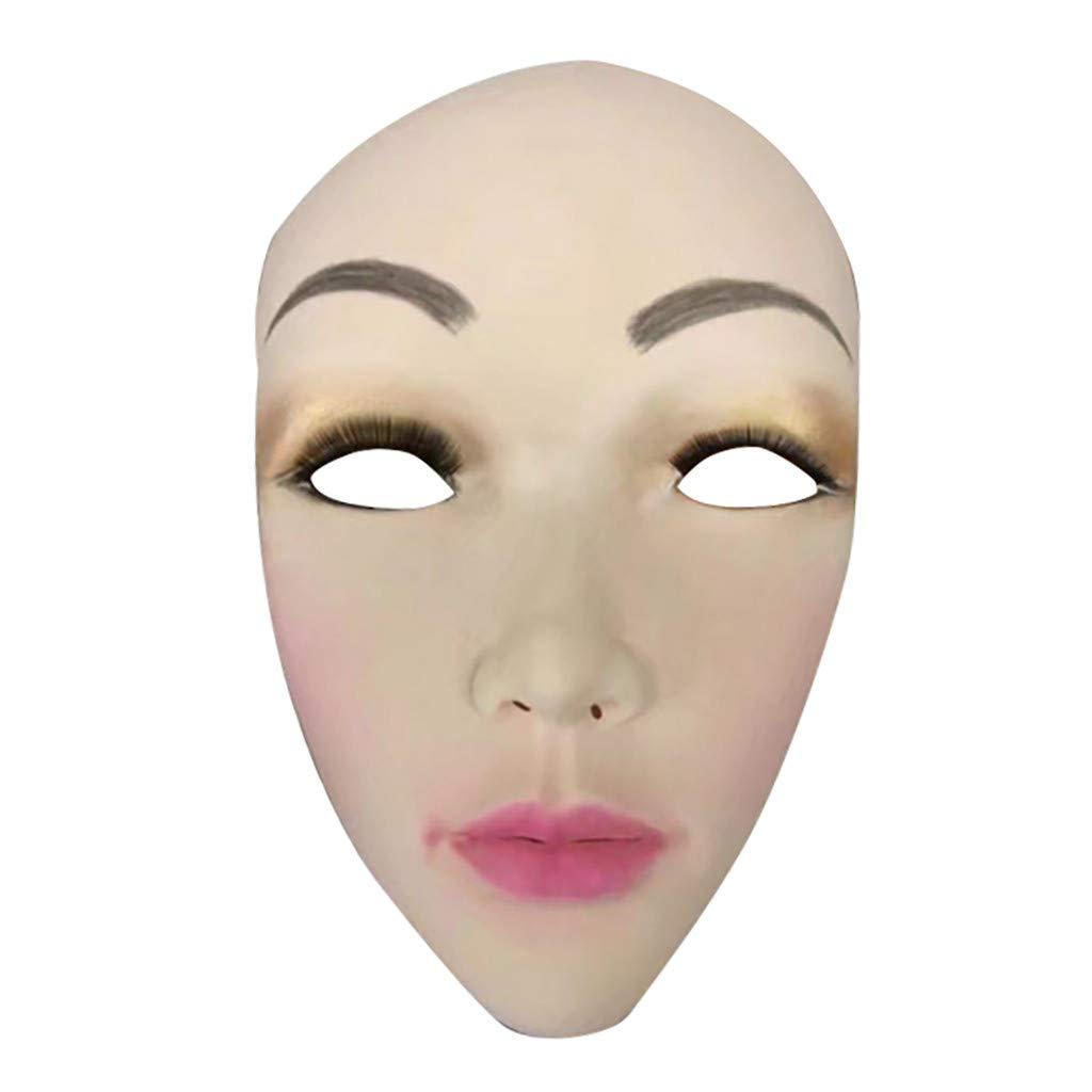 Blobboy Máscara de cabeza de cerdo de látex, divertida, disfraz de ...
