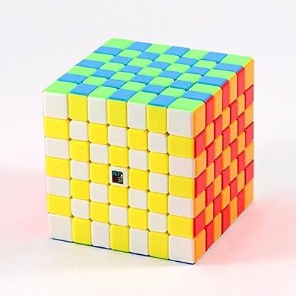 Cubelelo Kids MoFang JiaoShi MF7S 7x7 Stickerless(Multicolour)