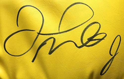 Floyd Mayweather Jr Signed Cleto Reyes Yellow Boxing Glove Shadowbox Beckett BAS