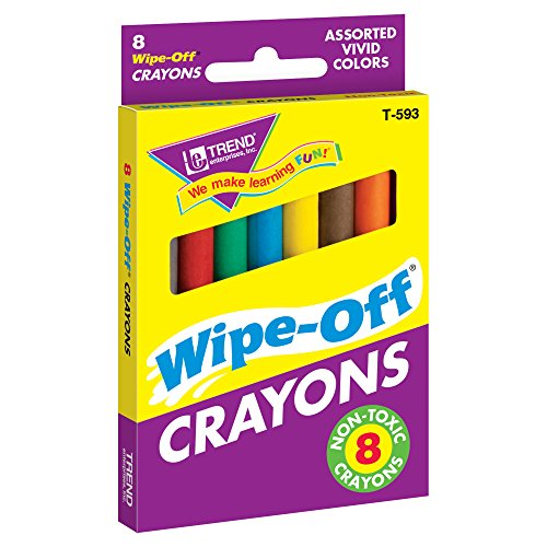 Wipe Off Crayons (8-Pack Regular Wipe-Off® Crayons)
