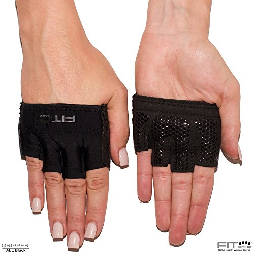 The Gripper Weightlifting Gloves   Callus Guard WOD Workout Gloves by Fit Four for Cross Training Athletes - Enhanced
