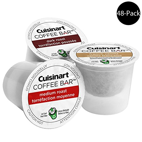 Cuisinart Coffee Bar K Cup Single Serve (For All K-Cup Machines) (48 Pods Total)