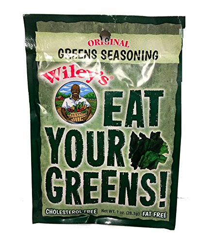 Wileys Green Seasonings -6 (SIX) Packets 1 OZ (28.3g)