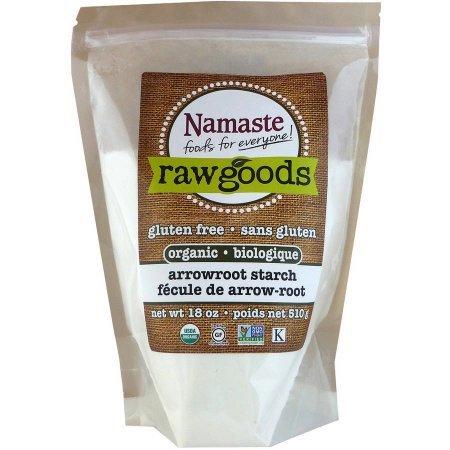 Namaste Foods Raw Goods Gluten Free Organic Arrowroot Starch, 18 oz