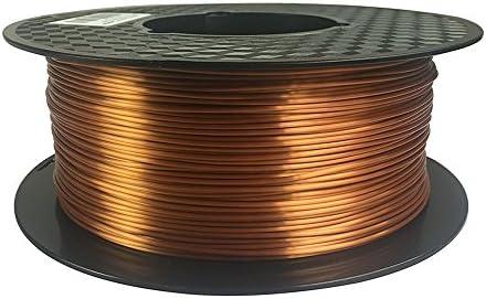 Amazon.com: Silk Copper 3D Printer Filament PLA 1.75 mm 1 KG ...
