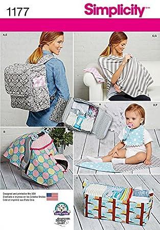 Simplicity Mother & Baby Schnittmuster 1177 Taschen, Organisatoren ...