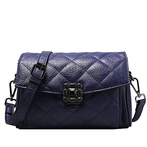 en Sac main femme 8810 LF Valin bandoulière main Sac à Bleu fashion portés portés Sac épaule Sac cuir qfgq7wY