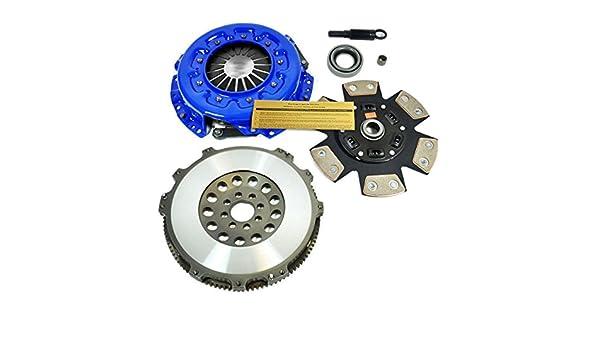 EF etapa 3 Sport Kit de embrague y 15 kg volante para Nissan Silvia S13 S14 SR20DET: Amazon.es: Coche y moto