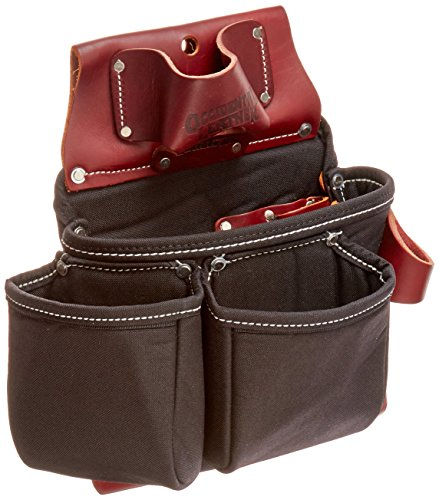 Occidental Leather B8018DB OxyLights 3 Pouch Tool Bag - Black