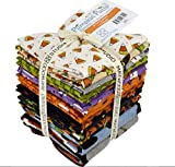 Pumpkin Party Flannel Fat Quarter Bundle by Bonnie Sullivan for Maywood Studio