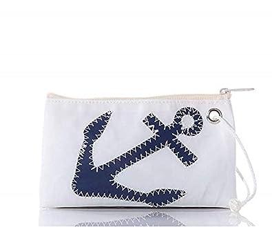 Amazon.com: Bolsas de mar ancla Wristlet reciclado Sail ...
