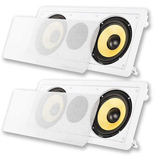 "Acoustic Audio HD-6c In-Wall 6.5"" Center Channel S..."