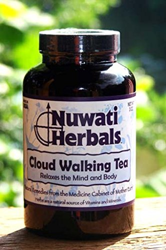 Nuwati Herbals - Cloud Walking Herbal Sleep & Anxiety Loose Tea, 3 Ounces