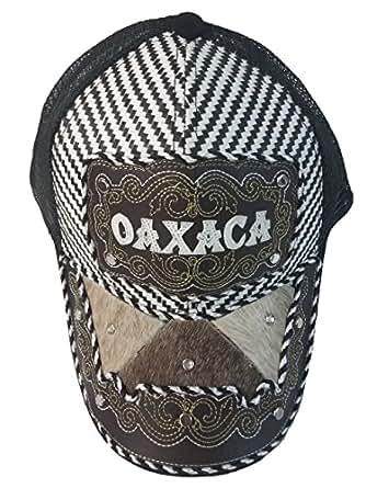 Gorra Charra Western Cowboy GO ID 148 Oaxaca Negro at Amazon Men's
