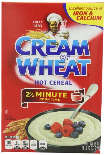 Price comparison product image Cream of Wheat,  Original Stove Top,  2.5 Minutes,  28 Ounce Boxes (Pack of 4)
