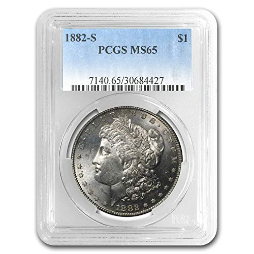 1882 S Morgan Dollar MS-65 PCGS $1 MS-65 PCGS