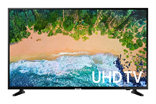 Samsung UN50NU7090FXZX Smart TV 50' 4K Ultra HD, Glossy Black (2018)