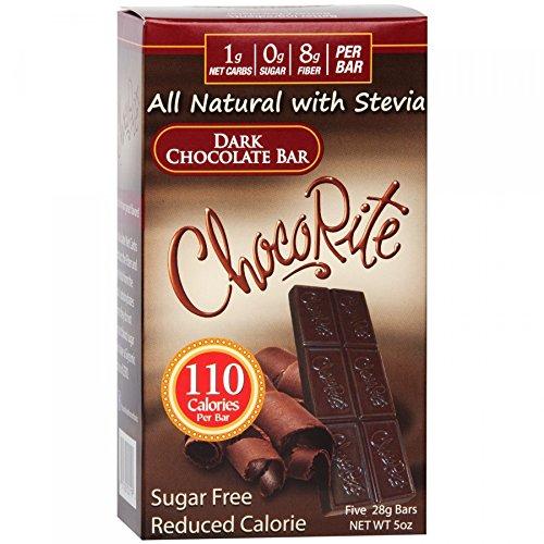 ChocoRite Dark Chocolate Bars, 5 Ounce ()
